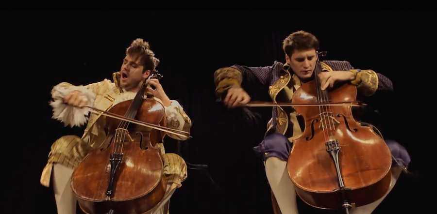 "These Cellists Have Raw Talent.  This Astounding Performance Of ""Thunderstruck"" by AC/DC Will Blow Your Mind."