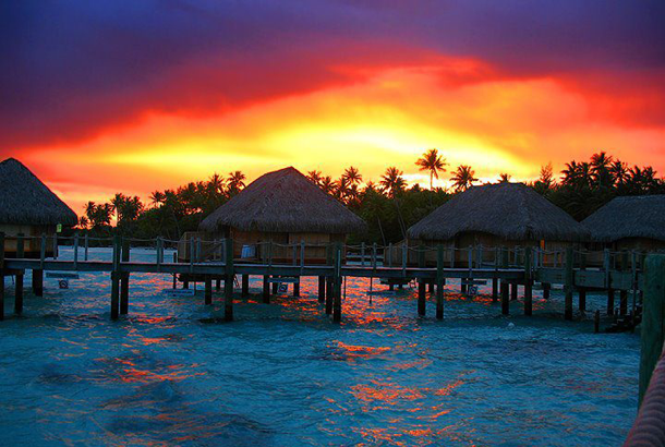 beautiful-sunset-Bora-Bora-Tahiti