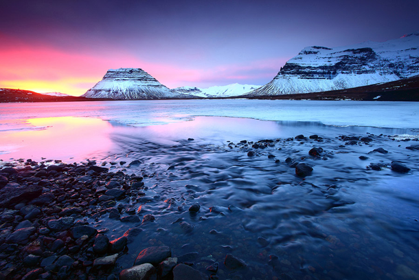 beautiful-sunset-Grundarfjordur-Iceland