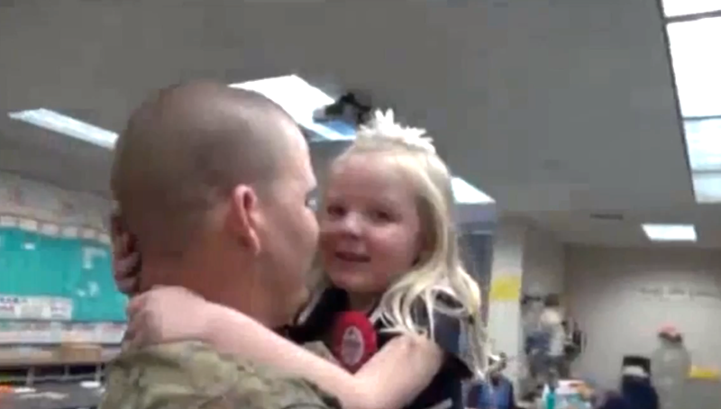 These Solders Come Back From War To Surprise Their Loved Ones. The Response They Get Is Heartwarming…
