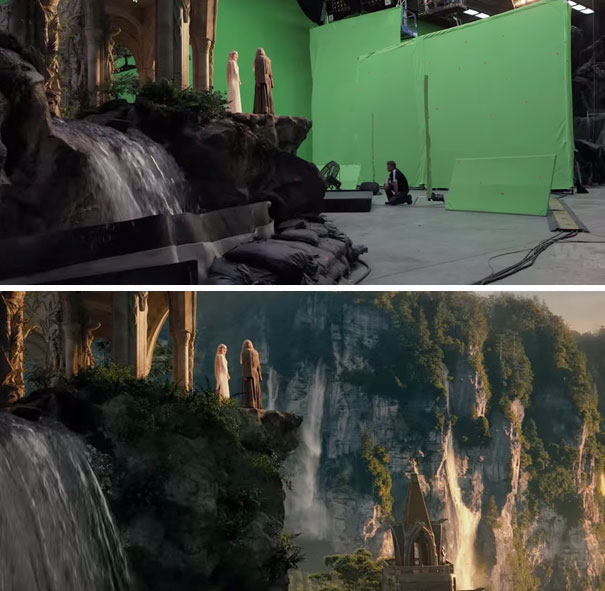 The Hobbit-green-screen