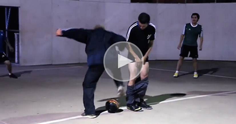 This Street Football Legend Dressed Like An Old Man… What Happened Next Left Everyone SPEECHLESS.