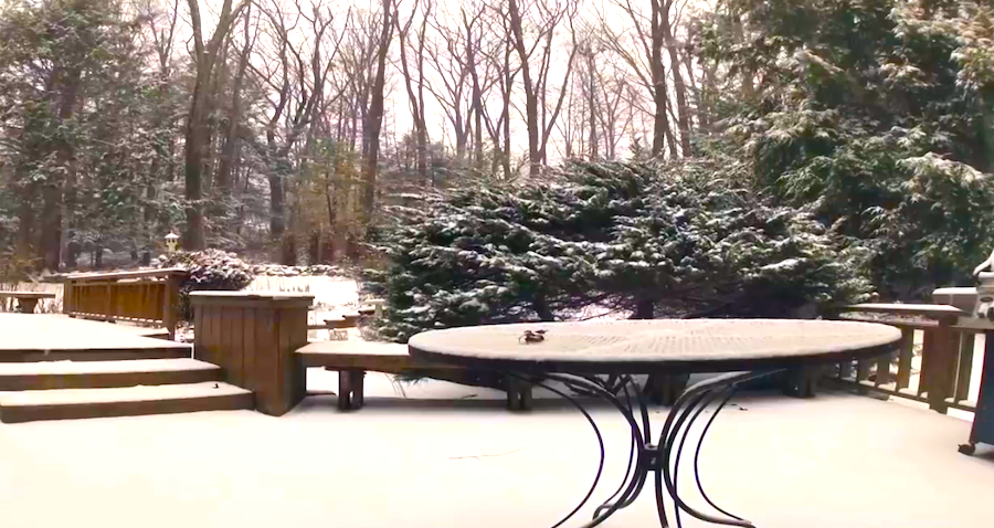 They Thought It Would Snow, But Never Expected THIS. You Gotta See What They Caught On Camera!