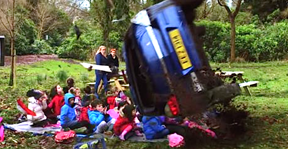 These Kids Went On A Walk In Nature, But They NEVER Expected What Happened Next. Speed Kills…