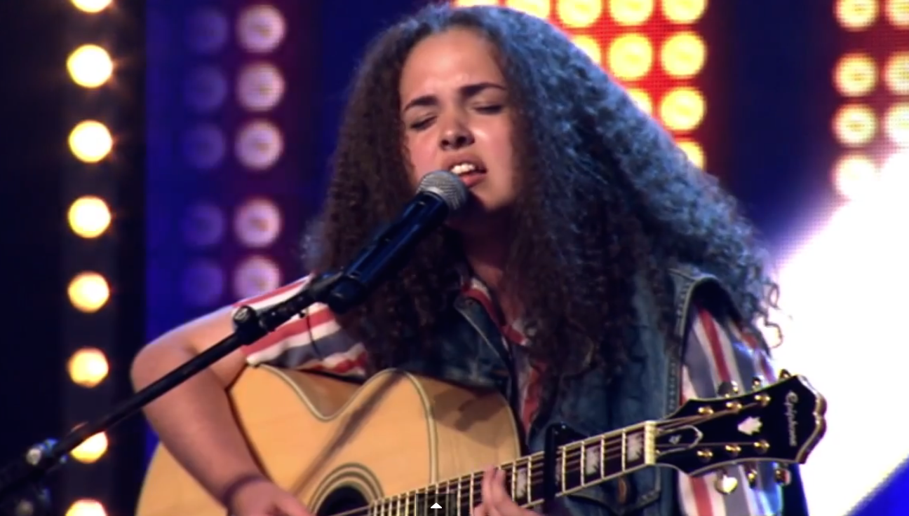 A 14-Year-Old Girl's Talent Shocked The Judges Speechless. Wait Till You Hear Her Voice!