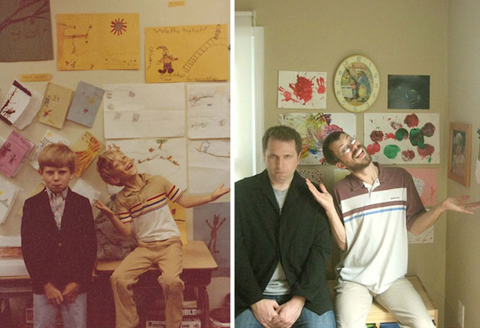 before-and-after-childhood-best-friends
