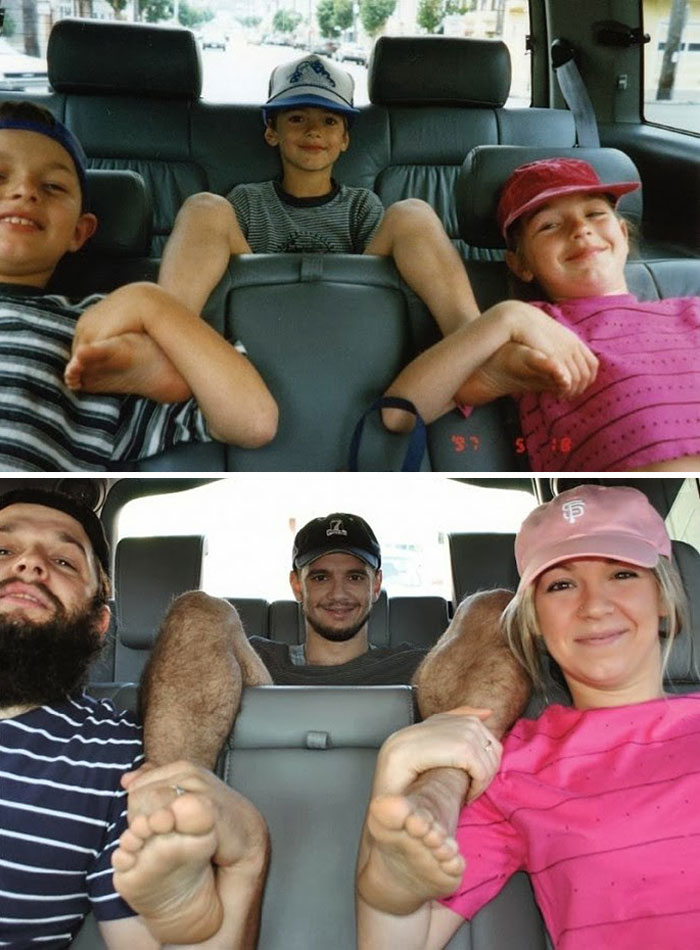 before-and-after-childhood-car