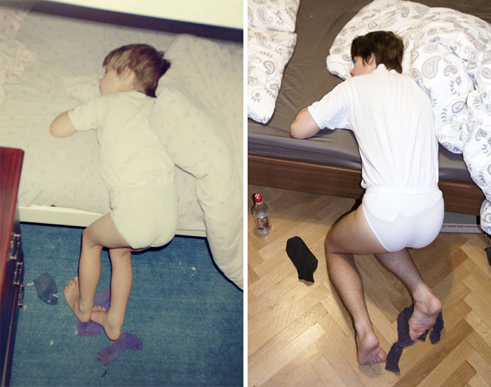 before-and-after-childhood-sleeping-boy