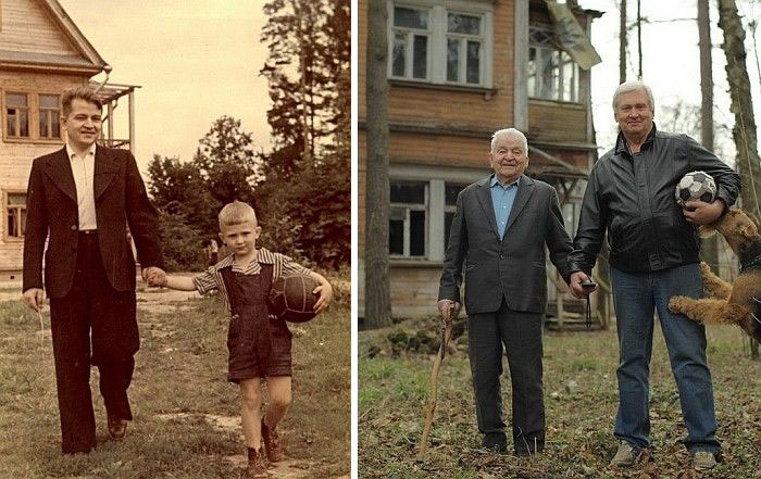 before-and-after-childhood-walking-men