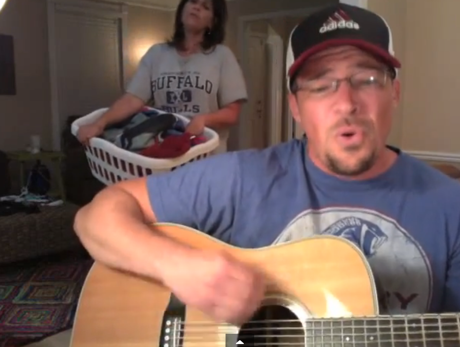 This Dad Has Finally Had Enough Of His Daughter's Boyfriend And Writes This Song To Him.