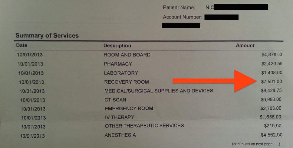 Guy Posted His Hospital Bill Online And It Went Viral. You'll See Why Everyone Has Something To Say About It…