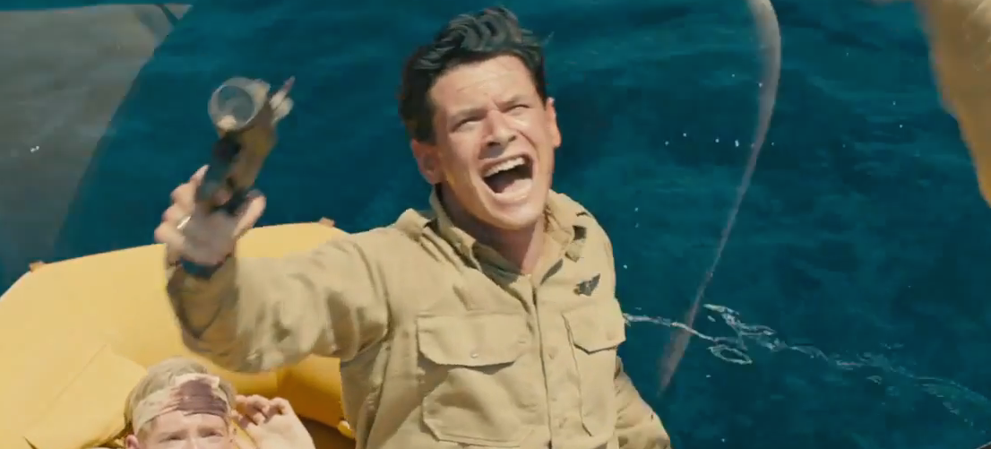 louis-zamperini-in-water