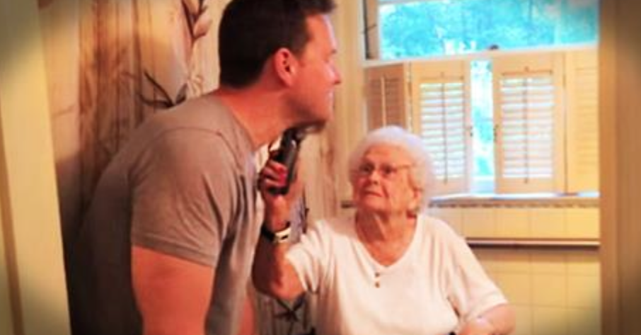 She Just Turned A 100 Years Old So Her Grandson Gave Her The Strangest Gift Ever…Just Watch Her Reaction!