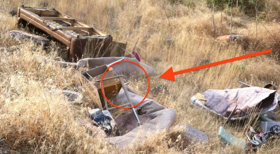 A Man Noticed Someone Had Dumped Garbage On Their Property, But Then He Found Something Unbelievable!