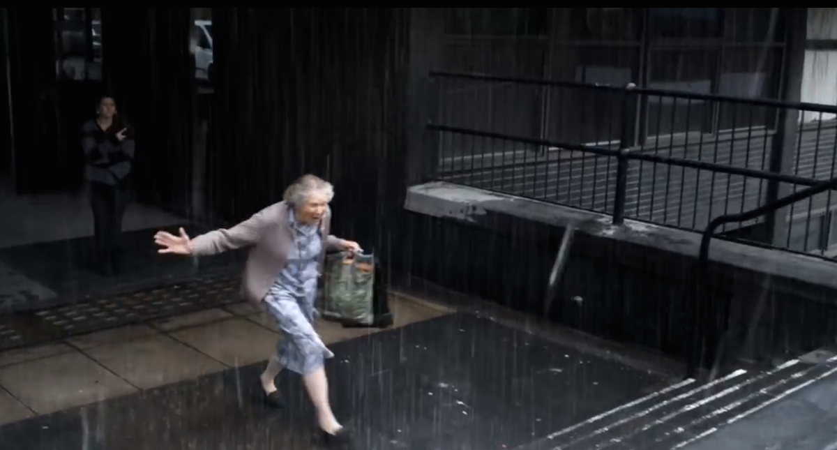 This Grandma Ran In The Rain And Will Never Forget It, But The Reason Why Is Empowering. Watch This!