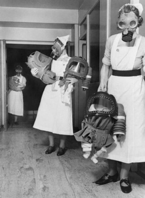 babies-wearing-gas-masks