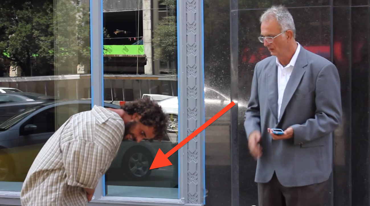 This Guy Put A Homeless Man In A Business Suit To See What Happens. The Result Is Hard To Swallow…