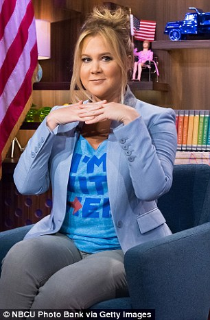 Amy Schumer leaving and relocating if trump wins better get a moving quote soon lol